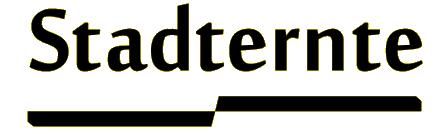 Stadternte - Headerbild mit Schriftzug: Der Blog von Ariela Sarbacher